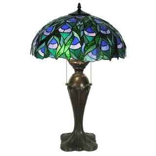 Tiffany-style Zamara Table Lamp