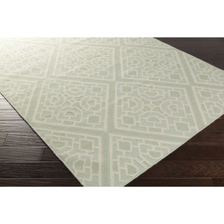 Hand-woven Brierley Reversible Wool Rug (5' x 8')