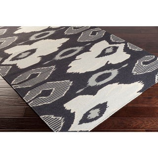 Hand-woven Ampthill Reversible Wool Rug (5' x 8')