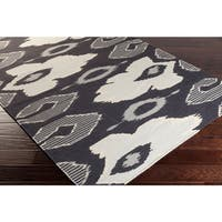 Hand-woven Ampthill Reversible Wool Area Rug - 5' x 8'