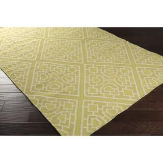 Hand-woven Brierley Reversible Wool Rug (3'3 x 5'3)