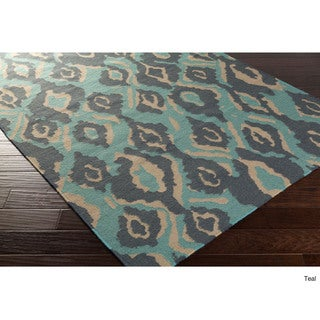 Beth Lacefield Hand-woven Keighley Reversible Wool Rug (2'6 x 8')