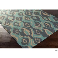 Hand-woven Keighley Reversible Wool Area Rug (2'6 x 8')