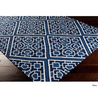 Hand-woven Brierley Reversible Wool Area Rug (2'6 x 8')