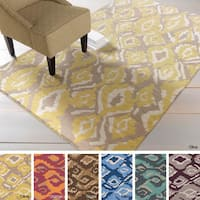 Hand-woven Keighley Reversible Wool Area Rug (8' x 11')