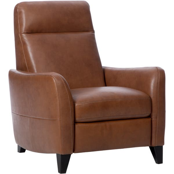 Astounding Shop Natuzzi Dallas Tan Italian Leather Recliner Free Lamtechconsult Wood Chair Design Ideas Lamtechconsultcom