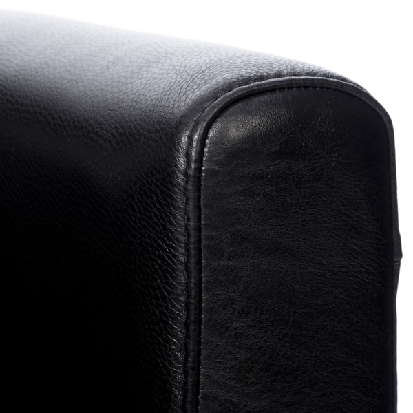Admirable Shop Natuzzi Siena Black Italian Leather Swivel Chair Free Squirreltailoven Fun Painted Chair Ideas Images Squirreltailovenorg