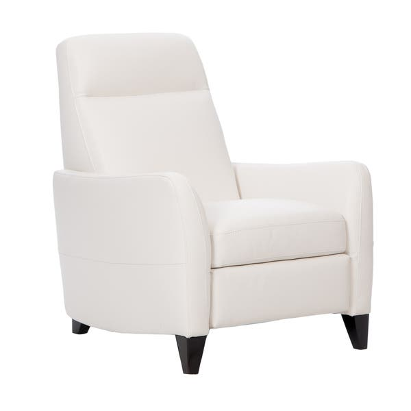 Groovy Shop Natuzzi Dallas Off White Italian Leather Recliner Short Links Chair Design For Home Short Linksinfo