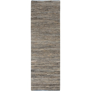 """The Curated Nomad Waller Hand-loomed Reversible Abstract Runner Rug - 2'6"""" x 8' Runner"""