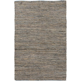 Hand-Loomed Reversible Haley Abstract Area Rug -(8' x 11')