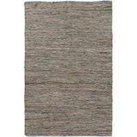 The Curated Nomad Waller Reversible Hand-loomed Abstract Area Rug
