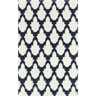 """Hand-tufted Eloise Polyester Rug (3'6"""" x 5'6"""")"""