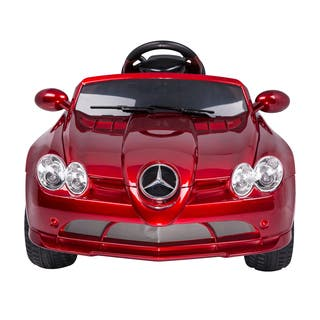 Aosom Red Mercedes-Benz 722S Kids 12V Ride-on Car with Remote|https://ak1.ostkcdn.com/images/products/9616751/P16802649.jpg?impolicy=medium