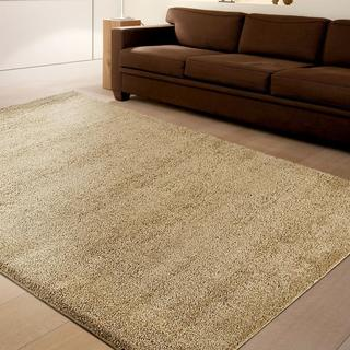 Carolina Weavers Comfy and Cozy Cosmopolitan Collection Doyelle Soft Brown Shag Area Rug