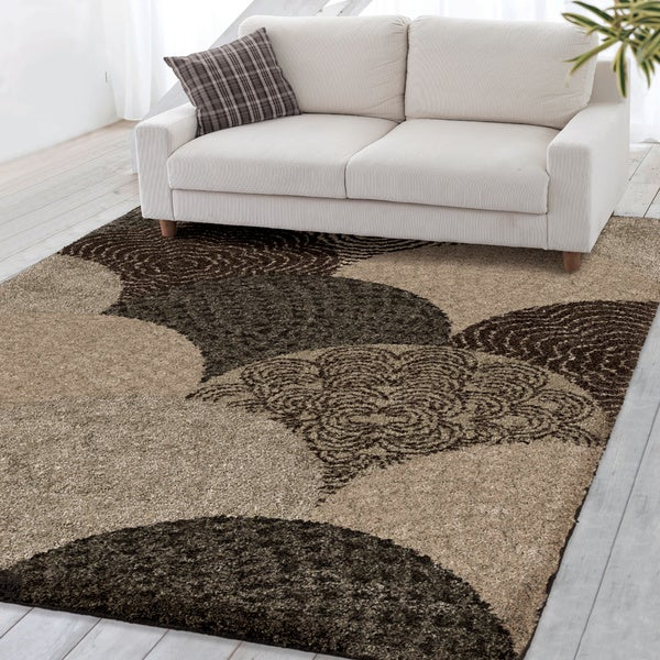 carolina weavers grand comfort collection austral multi shag area rug - Shag Area Rug