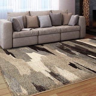 Carolina Weavers Grand Comfort Collection Dark Cloud Grey Area Rug