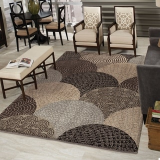 Carolina Weavers Grand Comfort Collection Austral Multi Shag Area Rug