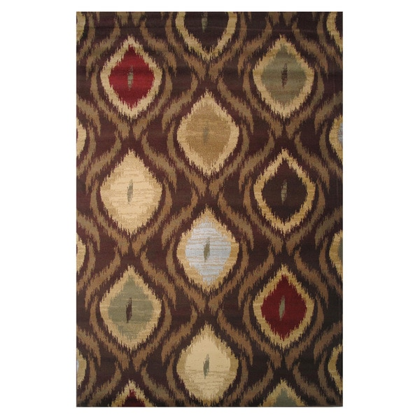 Inspire Brown Area Rug (2' x 4')