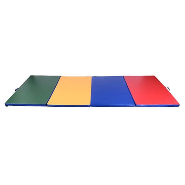 Soozier Multi Color Gym Mat (4' x 8')
