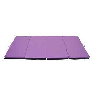 Soozier Purple Gym Mat (4' x 10')