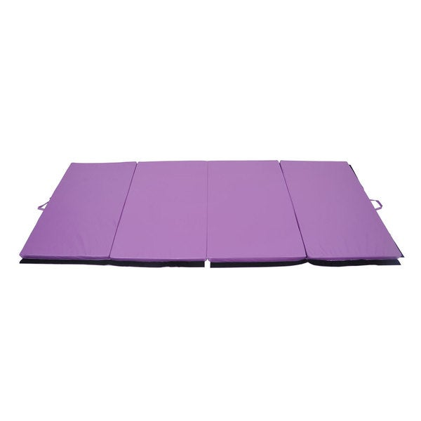 Shop Soozier Purple Gym Mat (4' X 10')
