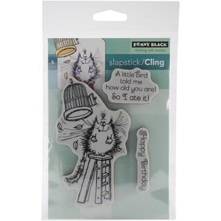 "Penny Black Cling Rubber Stamp 5""X7.5"" Sheet-A Little Bird..."