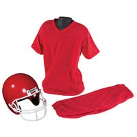 Franklin Sports Medium Red Costume Football Uniform Set