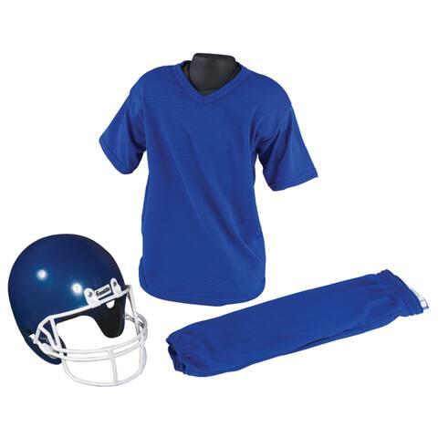 Franklin Sports Medium Blue Costume Football Uniform Set
