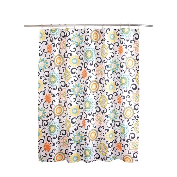 Waverly Pom Shower Curtain