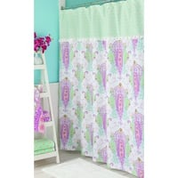 Dena Home Peacock Shower Curtain