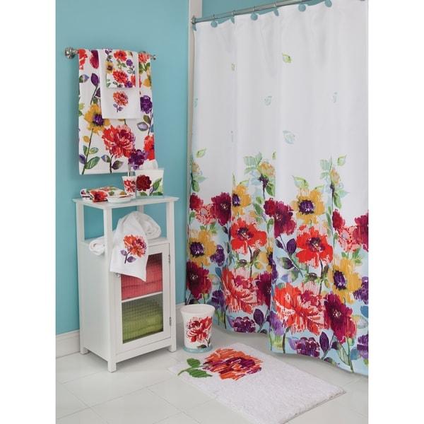 Shop Lenox Garden Graffiti Shower Curtain