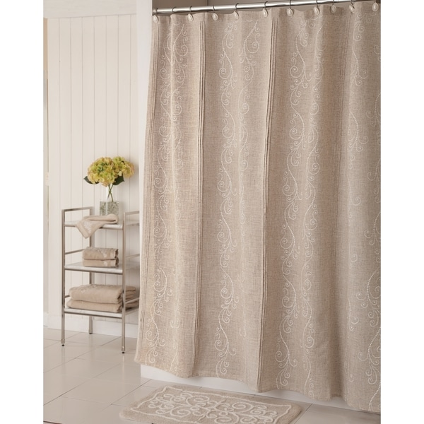 ... - Overstock.com Shopping - Great Deals on Lenox Shower Curtains