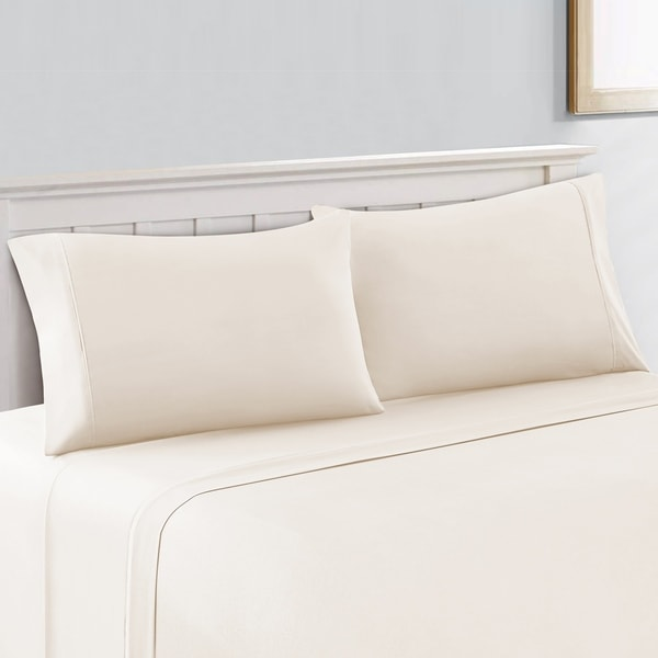 King Size Bed Sheet Luxury  400-Thread Count 100/% Cotton Sheet Set up to 18/'/'