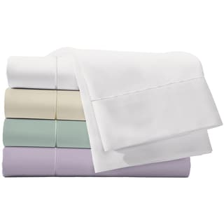 400 Thread Count Sheet Set Peach Finish Silky Touch Long Staple Cotton