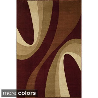 Handmade Torino Swirls Accent Rug (2
