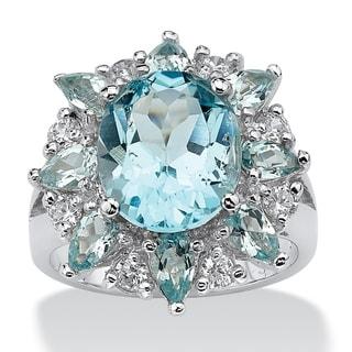 Sterling Silver Genuine Topaz Ring