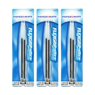Paper Mate FlexGrip Elite & FlexGrip Ultra Ballpoint Pen Refills (2 options available)