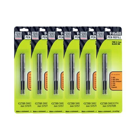 Zebra F301, F301 Ultra, F402, 301A, Spiral Ballpoint Pen Refills