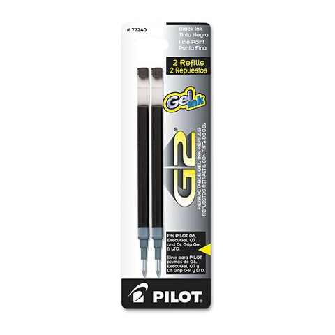 Pilot G2, Dr. Grip Gel/Ltd, ExecuGel G6, Q7 Rollerball Gel Ink Pen Refills