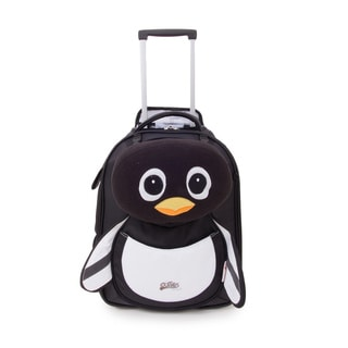 Cuties & Pals 'Peko Penguin' Soft Rolling Upright Trolly