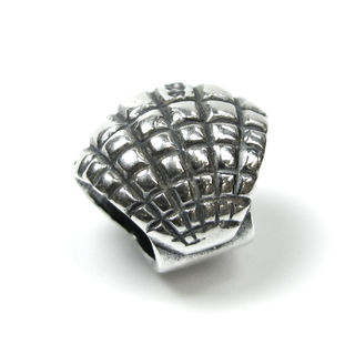 Queenberry Sterling Silver Sea Shell European Bead Charm