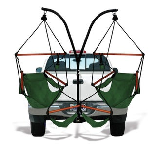 Hammaka Trailer Hitch Stand and Chairs Combo (Option: Green)