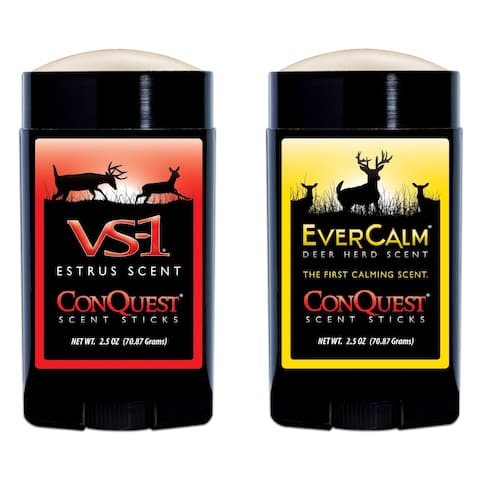 Conquest Scents Hunter's VS-1 and Ever Calm Stick Pack