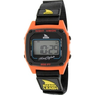 Freestyle Men's Shark Leash 102244 Black Nylon Quartz Watch with Digital Dial
