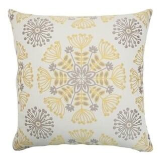 Jamesie Floral Multi Down Fill Throw Pillow