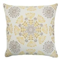 Jamesie Floral Multi Down Fill Throw Pillow