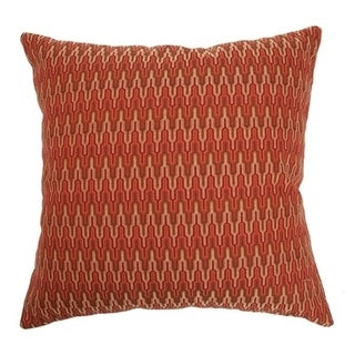 Caelic Zigzag Flame Down Fill Throw Pillow