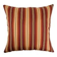 Bailey Stripes Sunset Down Fill Throw Pillow