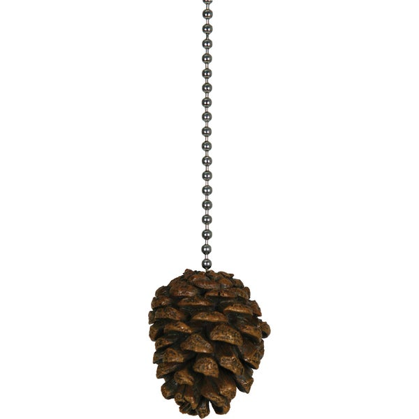 River's Edge Products Pine Cone Fan Pull
