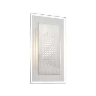 Lite Source Flynn 1-light Rectangle Wall Sconce